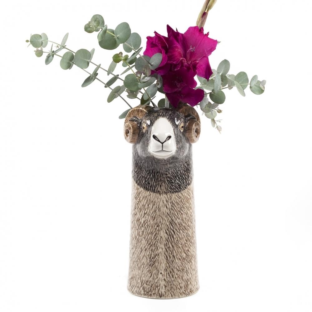Blomstervase Swaledale-Sau