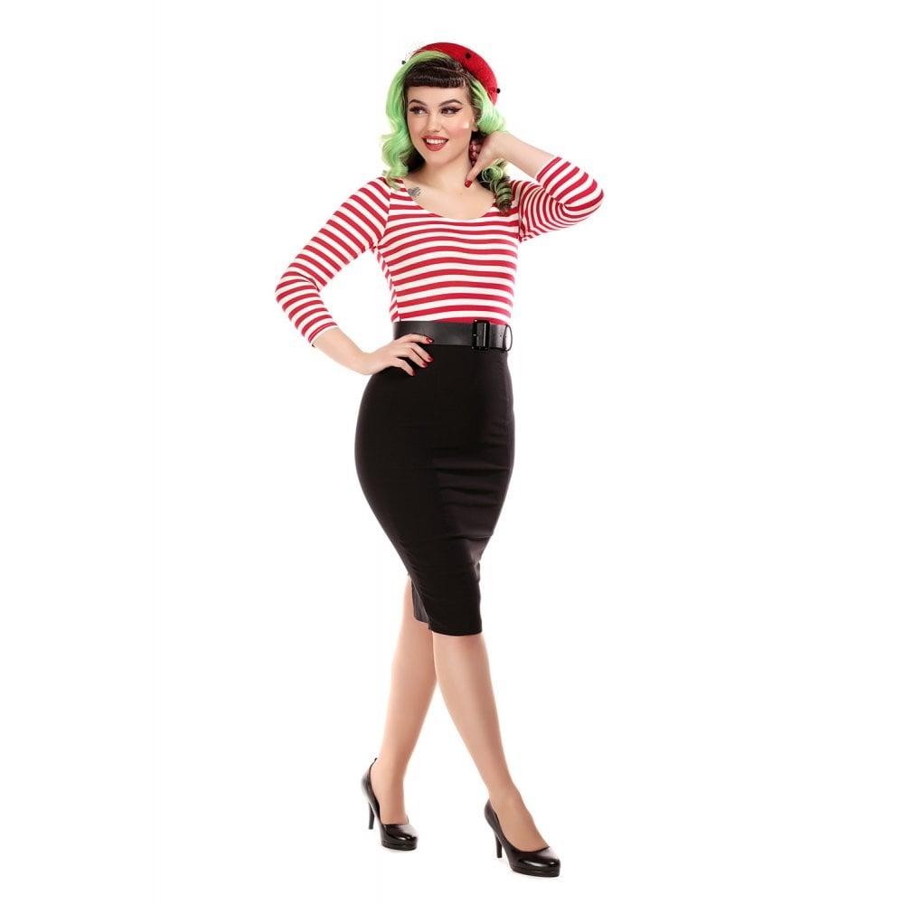 Manuela Striped Pencildress 3XL