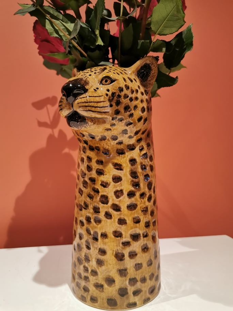 Blomstervase Leopard