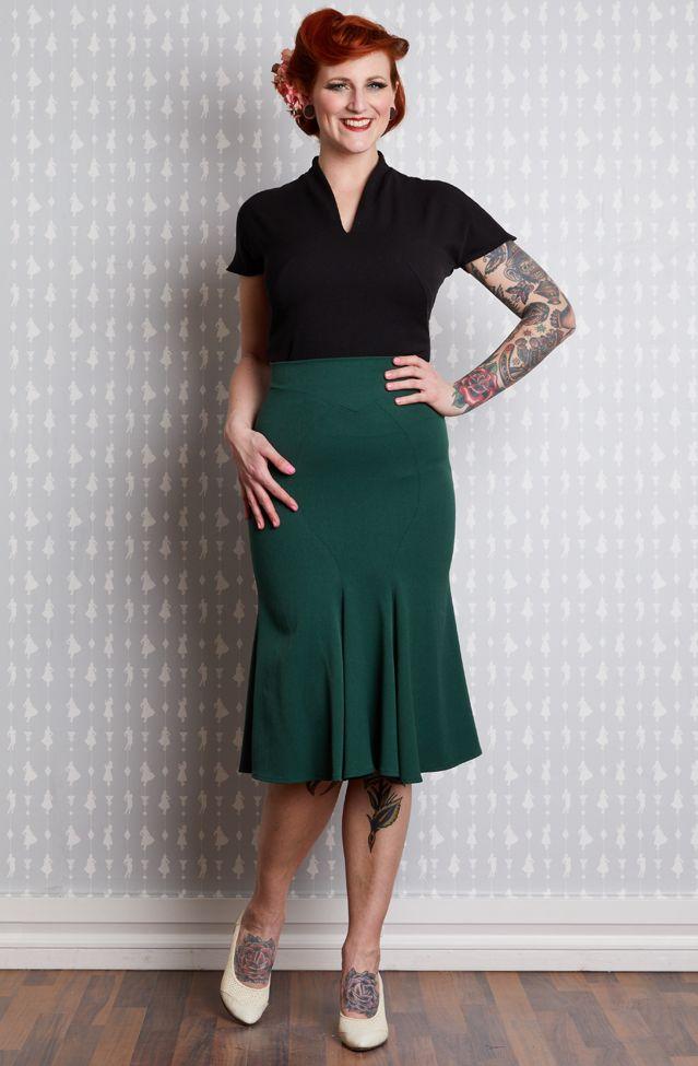 Gillian-Gia Trumpet Skirt