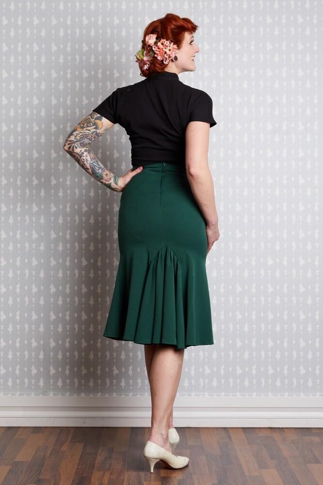 Gillian-Gia Trumpet Skirt - bakside