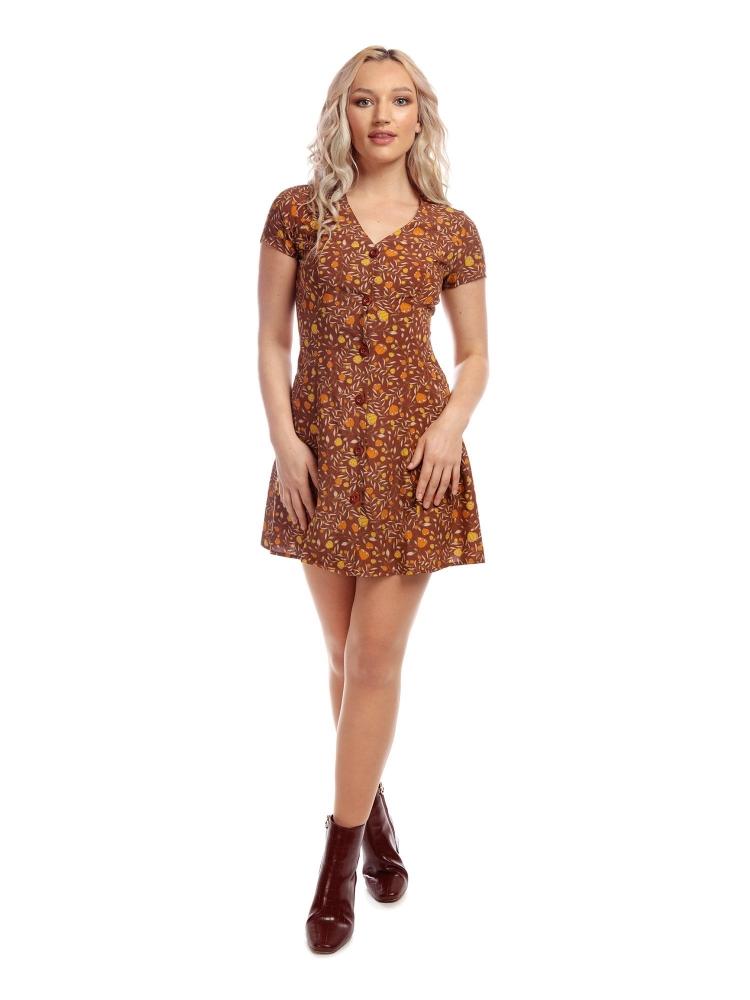 Sonya Floral Dress Str L