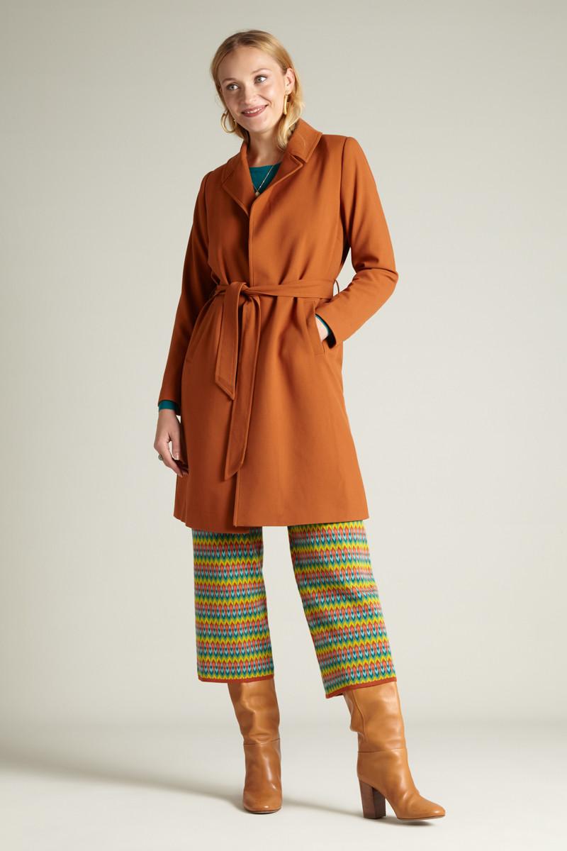 Robin Summer Coat Tuillerie Rust