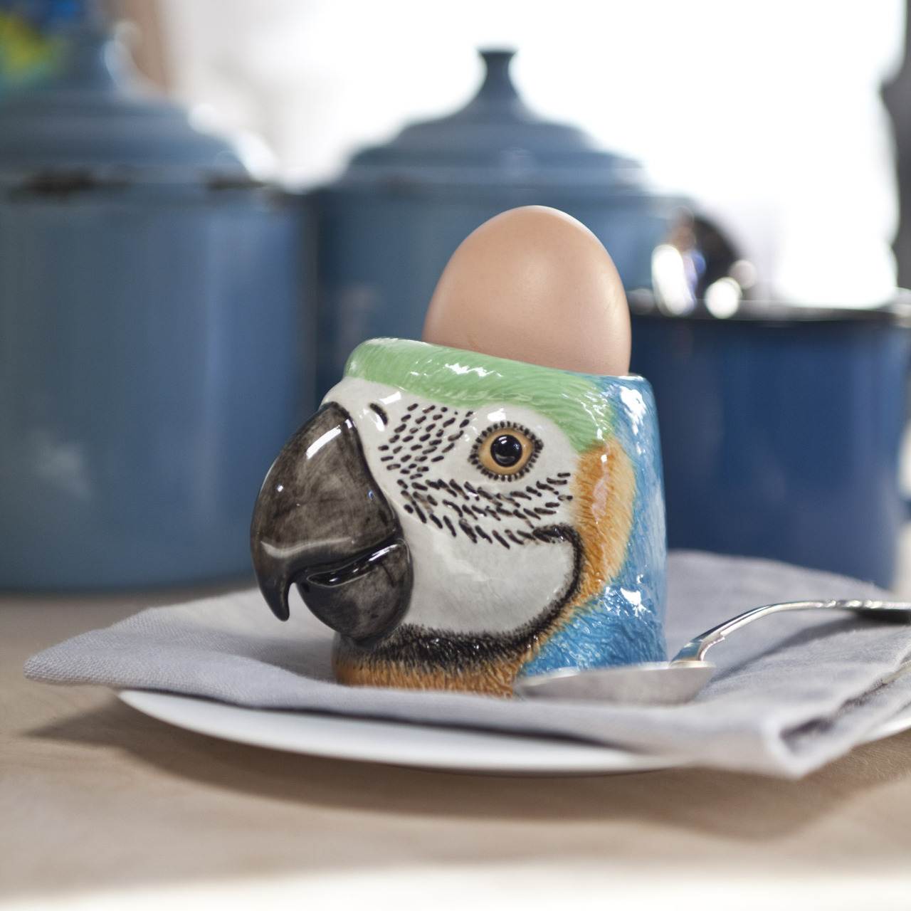 Eggekopp Papegøye