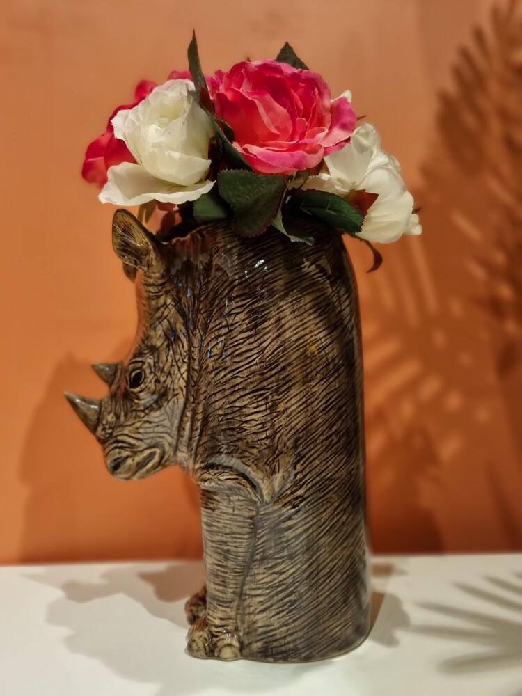 Blomstervase Neshorn