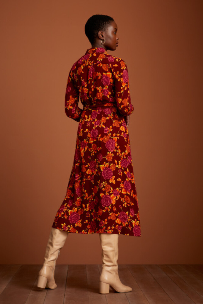Rosie Midi Dress Doherty - bakside