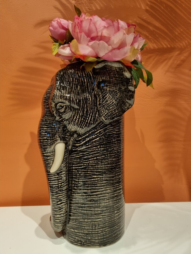 Blomstervase Elefant