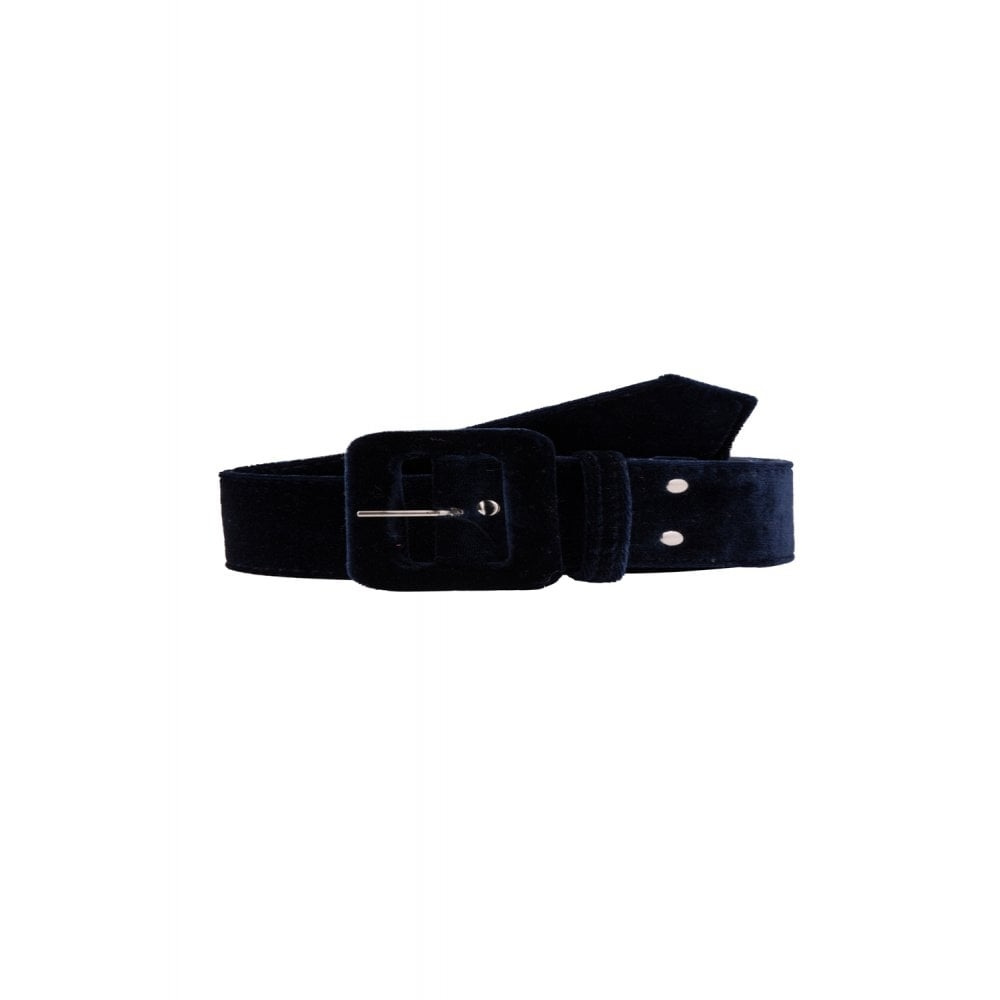 Jade Velvet Belt