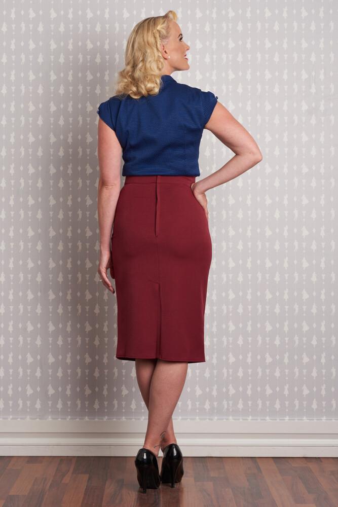 Adelin Pencil Skirt - bakside