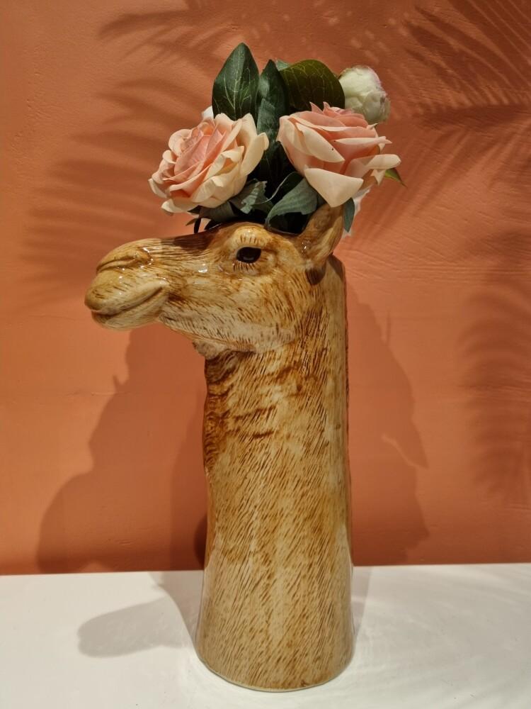 Blomstervase Kamel